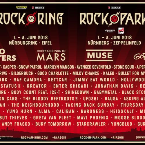 Rock am Ring – Muse als weiterer Headliner bestätigt