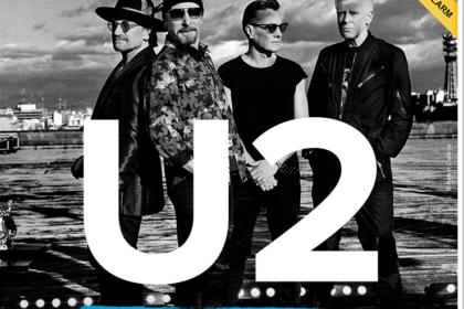 U2 – für drei Konzerte 2018 in Deutschland