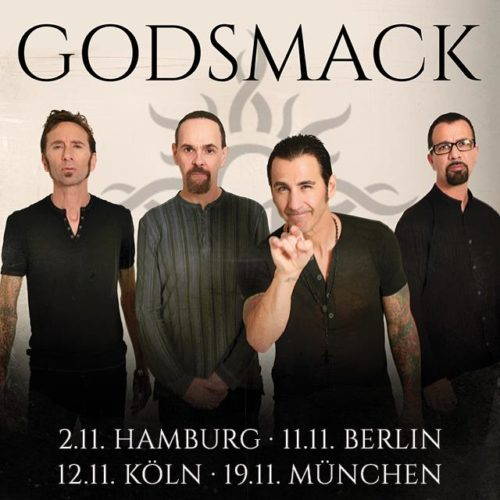 Godsmack – zurück in Deutschland