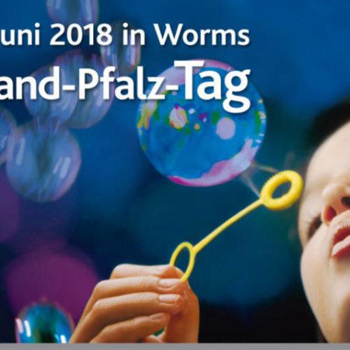 Rheinland-Pfalz-Tag 2018 in Worms mit Kim Wilde und Nik Kershaw