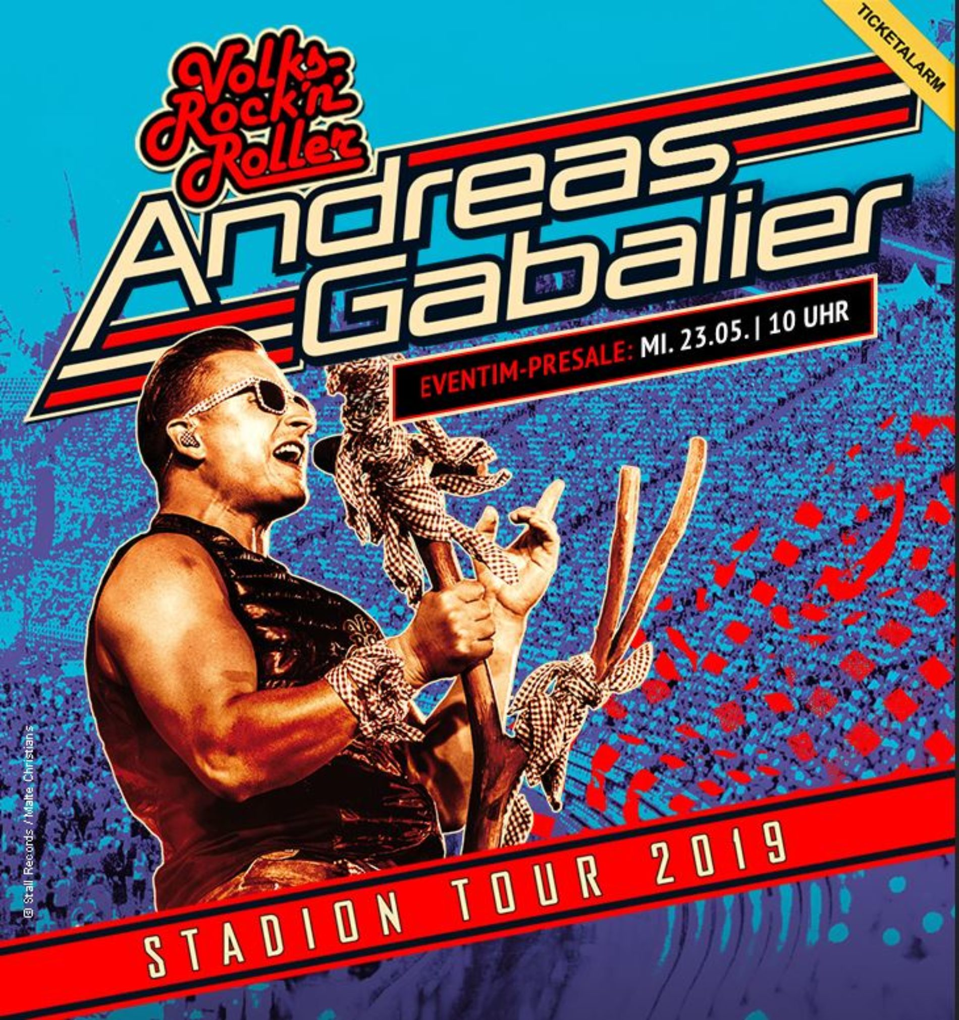 Andreas Gabalier auf Stadiontour 2019
