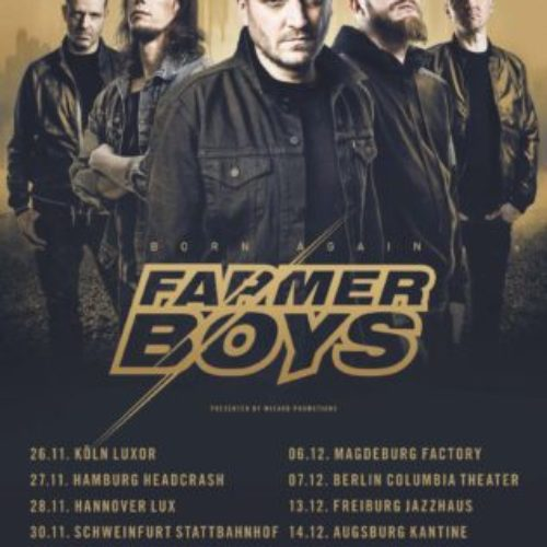 Farmer Boys – Born Again Tour 2018