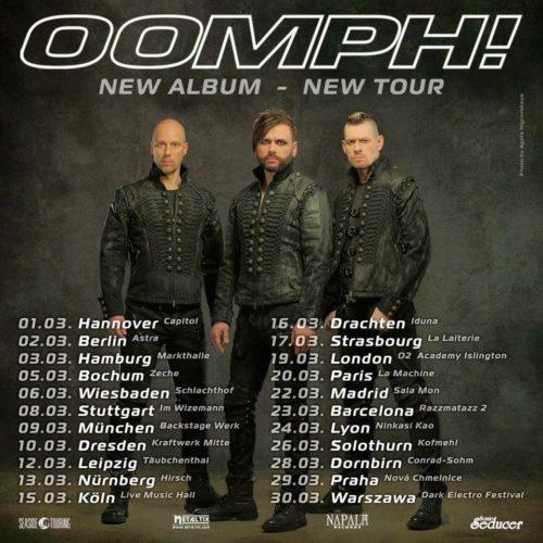 Oomph! mit neuem Album und neuer Tour