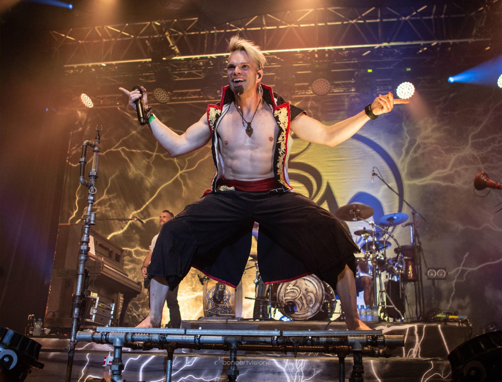 Saltatio Mortis beim Zeltfestival in Mannheim