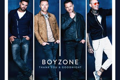 """Boyzone: Abschiedalbum """"Thank You & Goodnight"""" nach 25 Jahren"""