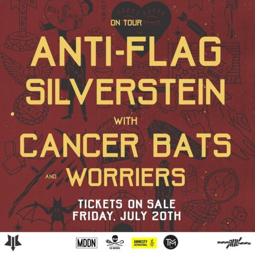 Anti-Flag kommen Tour