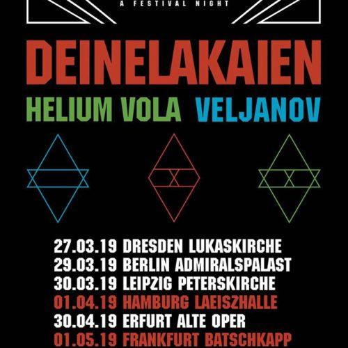 """Deine Lakaien – mehr Termine für """"Acoustica""""-Tour 2019"""
