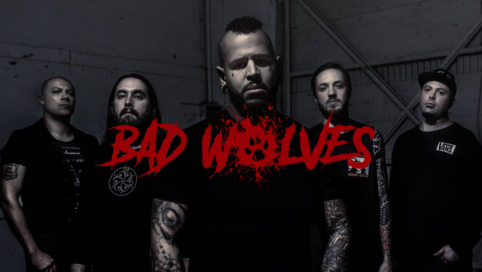 Bad Wolves mit erster Europa-Tour