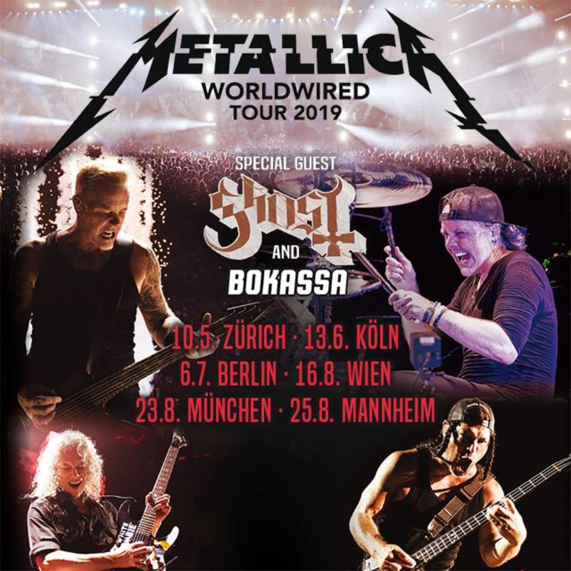 Metallica Tour 2021 Mannheim