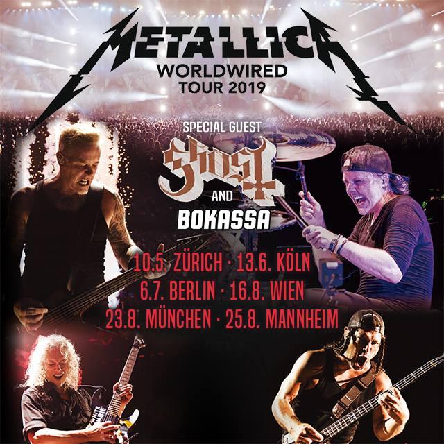 Maimarktgelände Mannheim Metallica