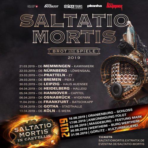 Saltatio Mortis – Brot und Spiele 2019