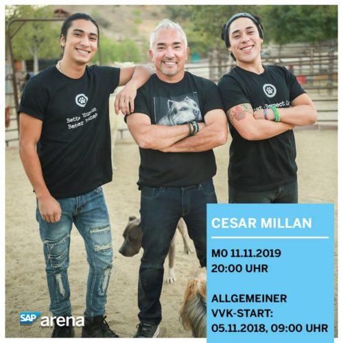 Cesar Millan – Tour 2019