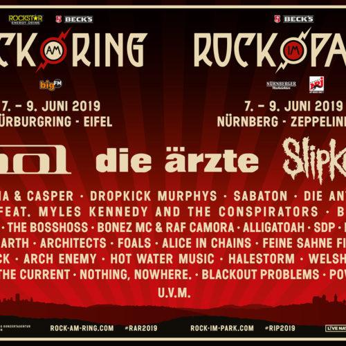 Rock am Ring – Lineup 2019 – die ersten Acts
