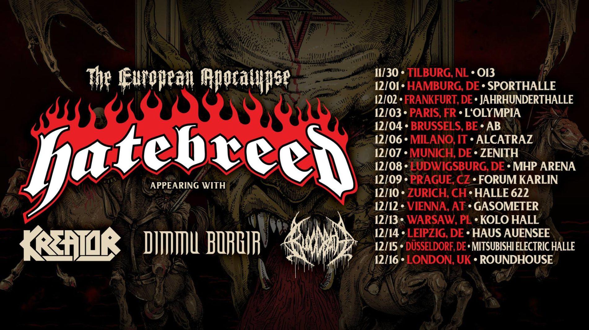 Hatebreed – Tour zum 25. Jubiläum?