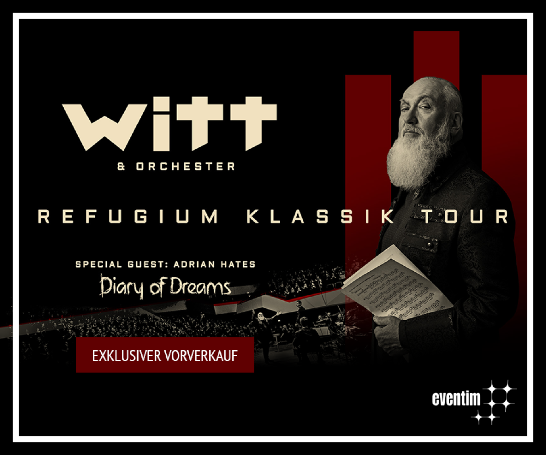Joachim Witt – Refugium Klassik Tour 2019