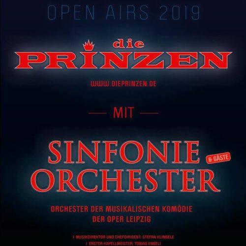 Die Prinzen & Sinfonieorchester – Open Air 2019