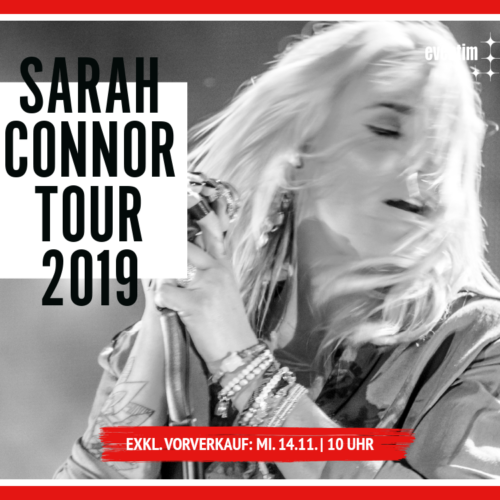 Sarah Connor – Tour 2019