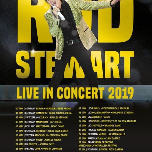Rod Stewart: 2019 in Deutschland