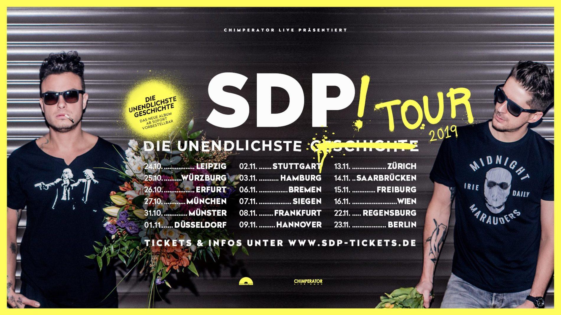 SDP – Die Unendlichste Tour 2019