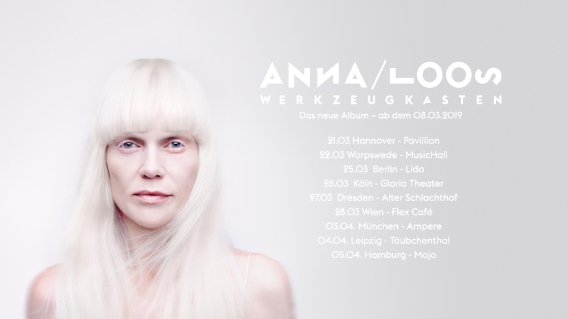 Anna Loos – Werkzeugkasten Clubtour 2019