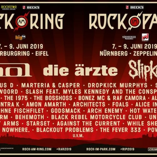 Rock am Ring / Rock im Park 2019 – weitere Acts bestätigt