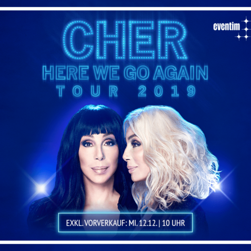 Cher – Here We Go Again Tour 2019