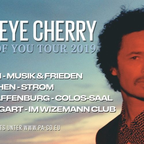 Eagle-Eye Cherry – Streets of You Tour 2019