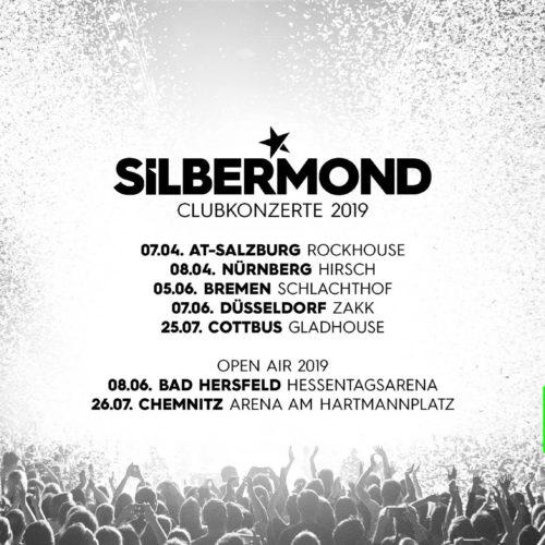 Silbermond – Clubtour!