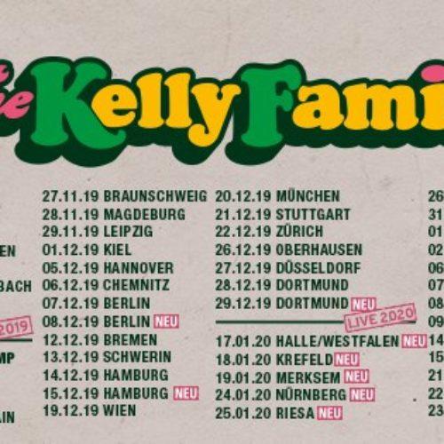 The Kelly Family – neue Termine!