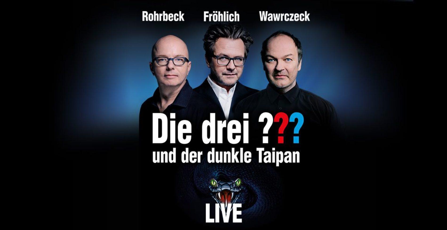 3 Fragezeichen Live 2019