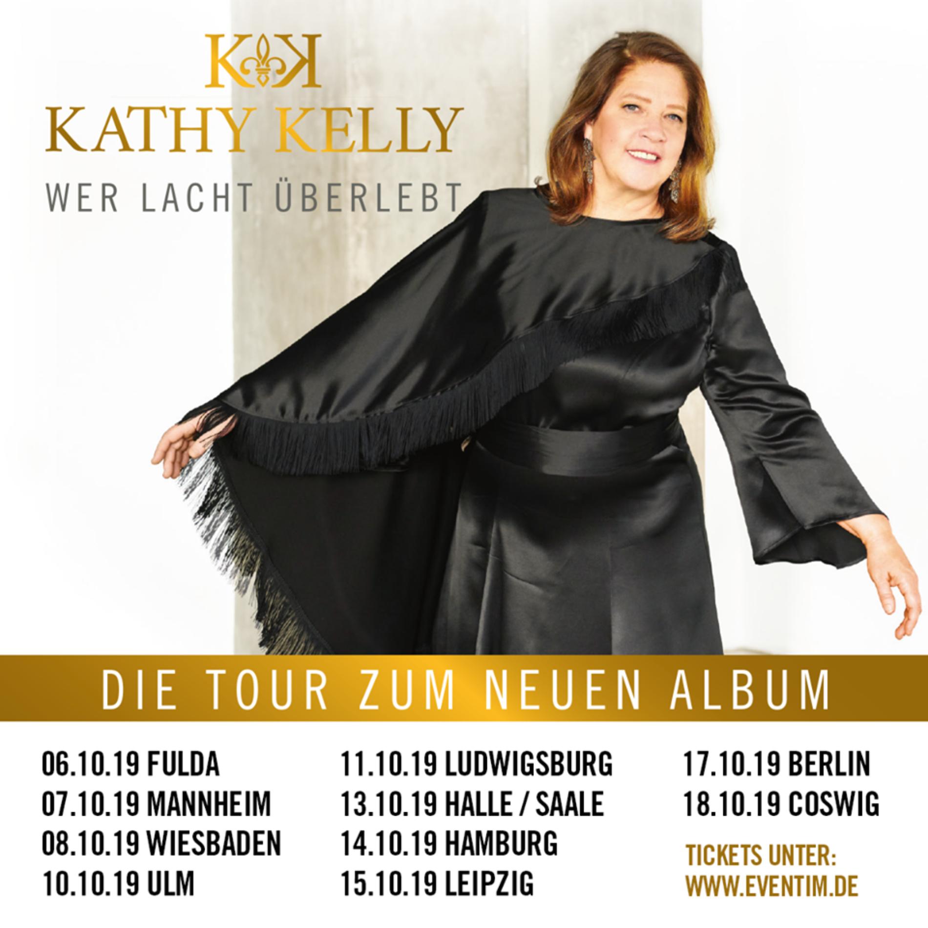 Kathy Kelly – Tour im Oktober 2019