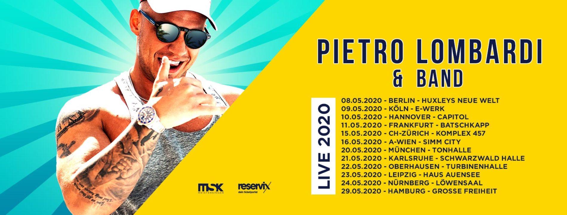 Pietro Lombardi – neue Single und Tour 2020!