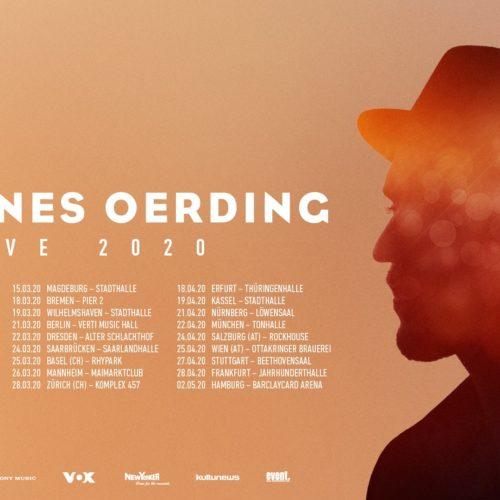 Johannes Oerding – Tour 2020