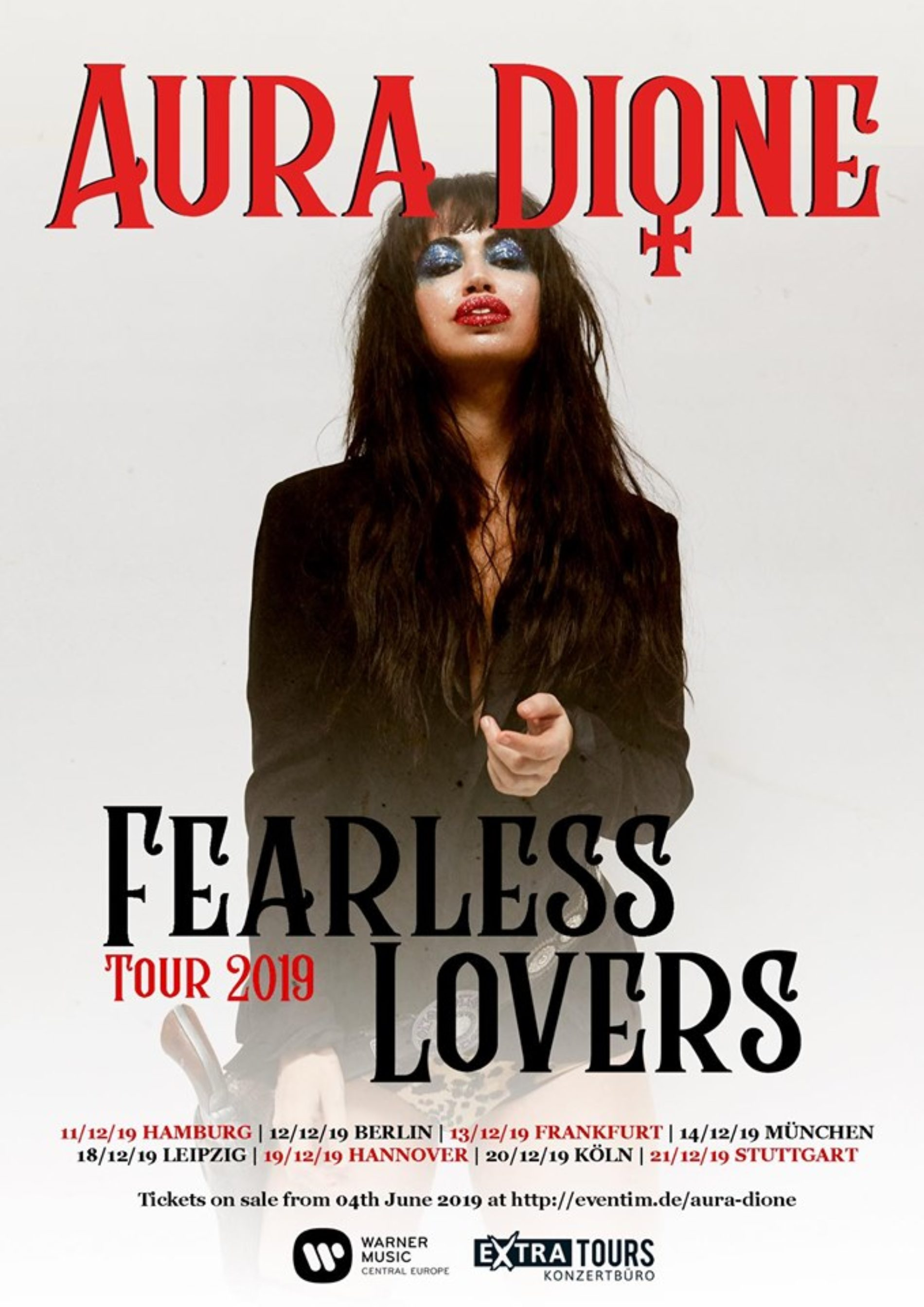 Aura Dione – Fearlass Lovers Tour 2019