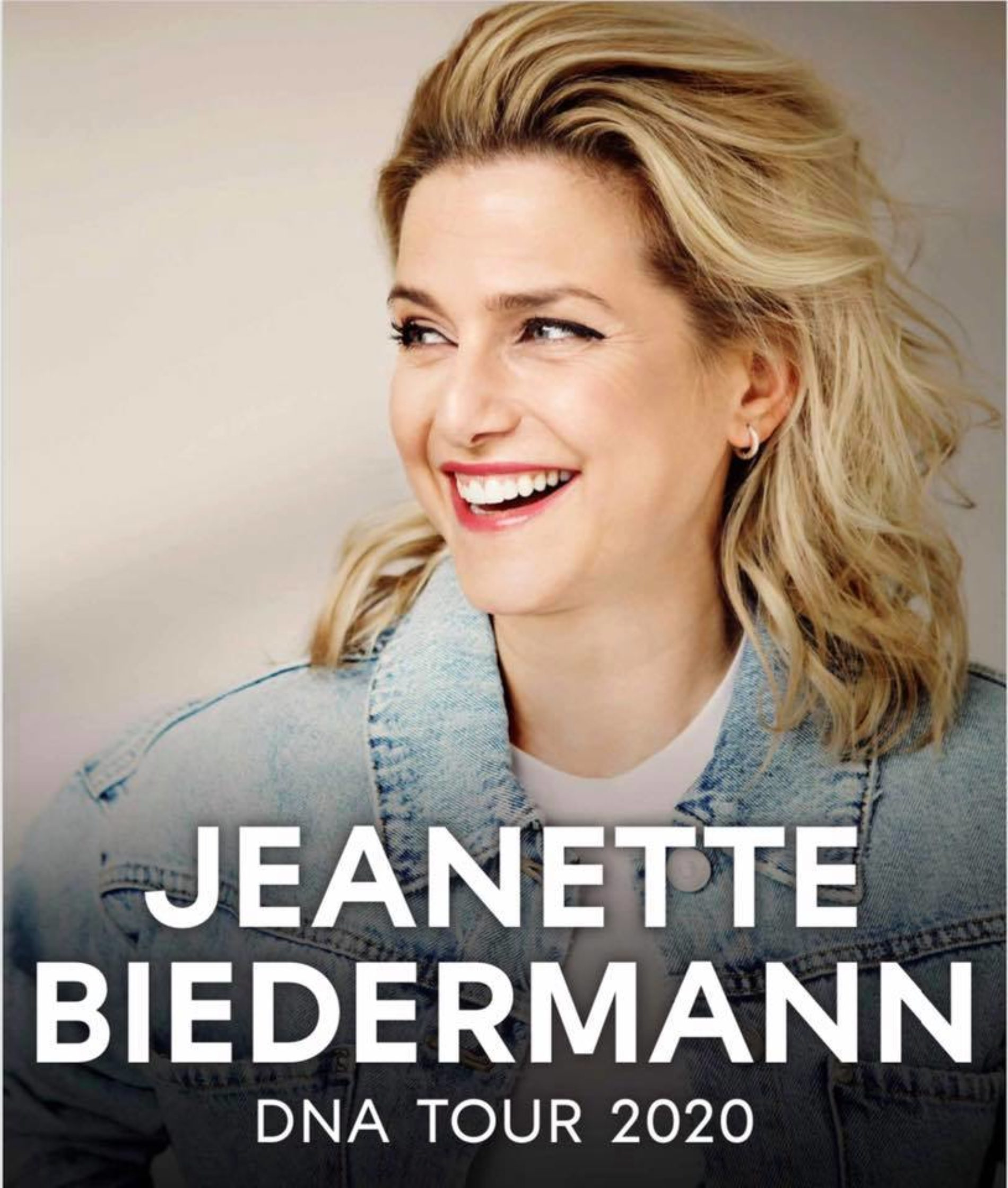Jeanette Biedermann – DNA Tour 2020