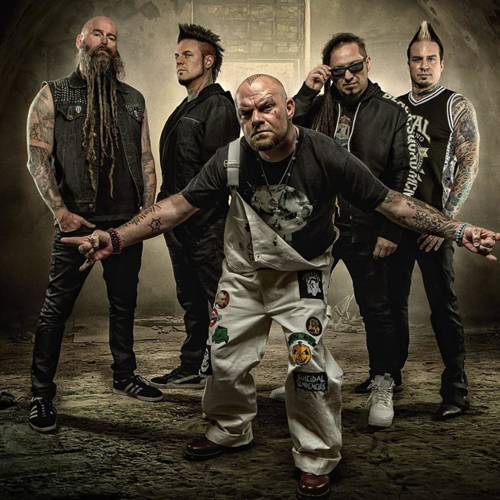 Five Finger Death Punch mit den Bad Wolves und Megadeth auf Tour!