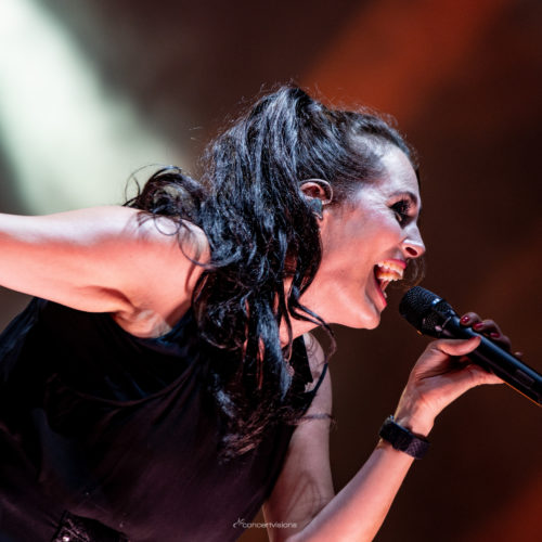 Within Temptation in Schwetzingen