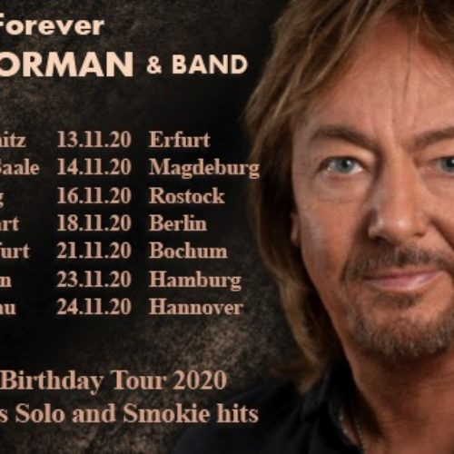Chris Norman & Band: Forever – The 70th Birthday Tour 2020