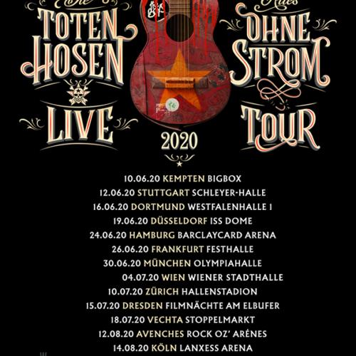 Die Toten Hosen – 2020 auf Tour!