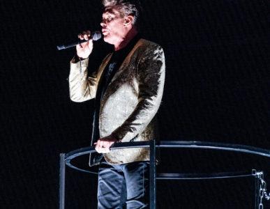 David Hasselhoff in der Jahrhunderthalle Frankfurt 2019