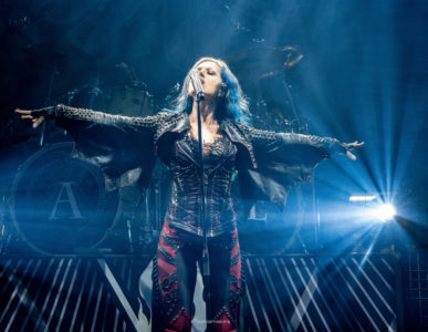 Arch Enemy als Support für Amon Amarth