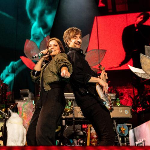 """Silbermond auf """"Schritte""""-Tour in der SAP Arena Mannheim"""