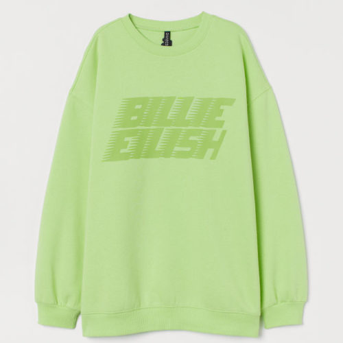 Billie Eilish – Modekollektion bei H&M