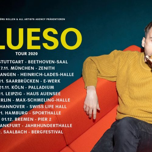 Clueso – im Winter 2020 auf Tour!