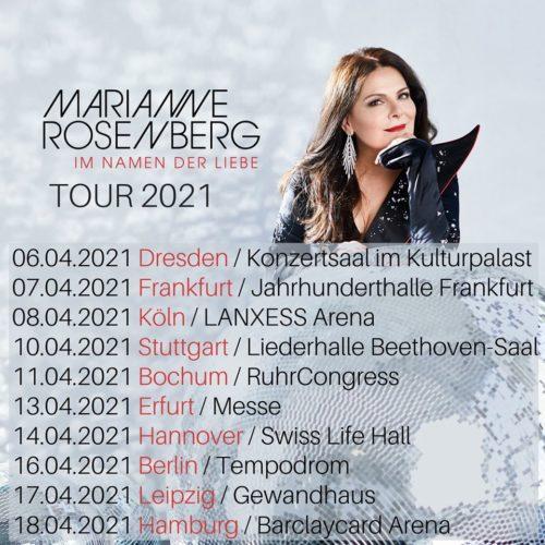 Marianne Rosenberg – Tour 2021