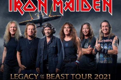 Iron Maiden – Nachholtermine 2021