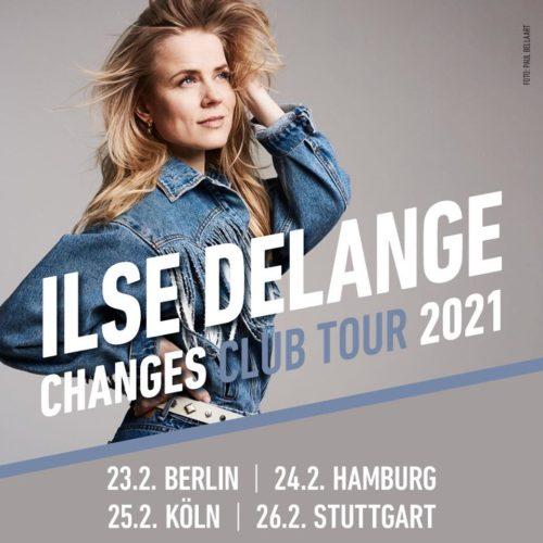 Ilse Delange kommt 2021 auf Clubtour
