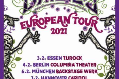 The Dead Daisies – Tourverschiebung auf 2021
