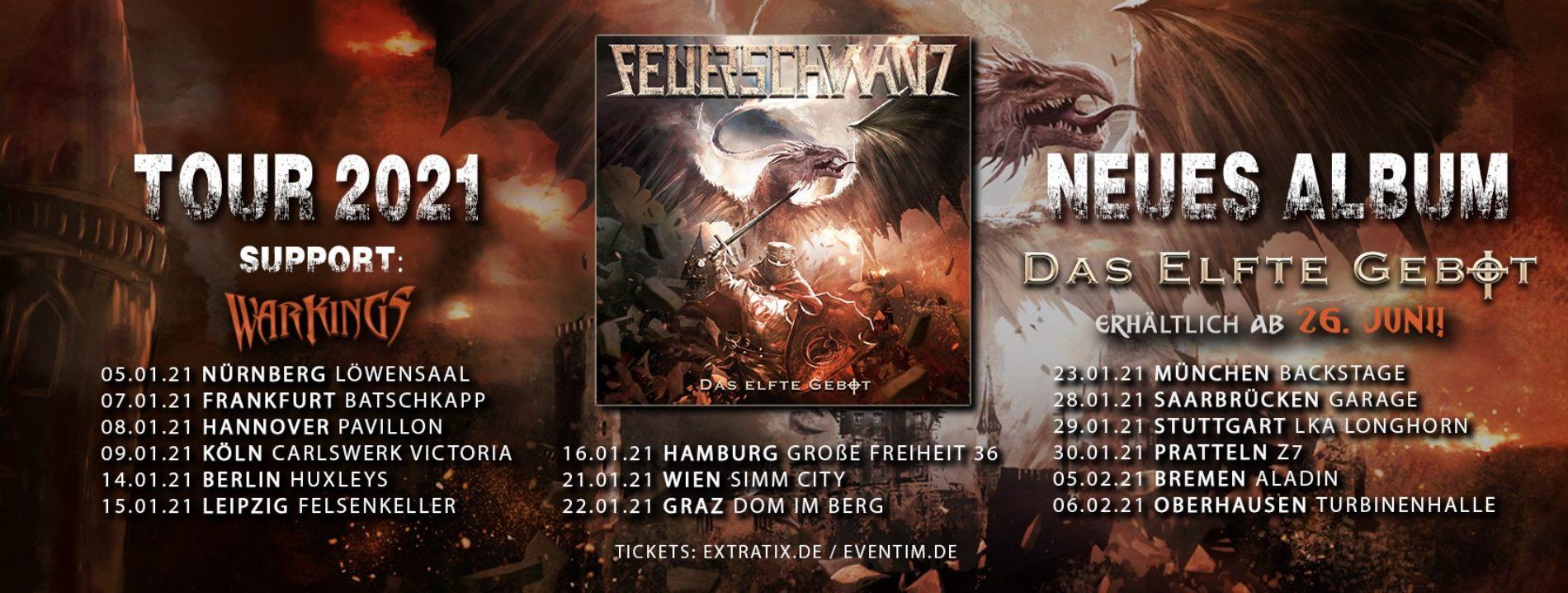 Feuerschwanz – 2021 auf Tour!