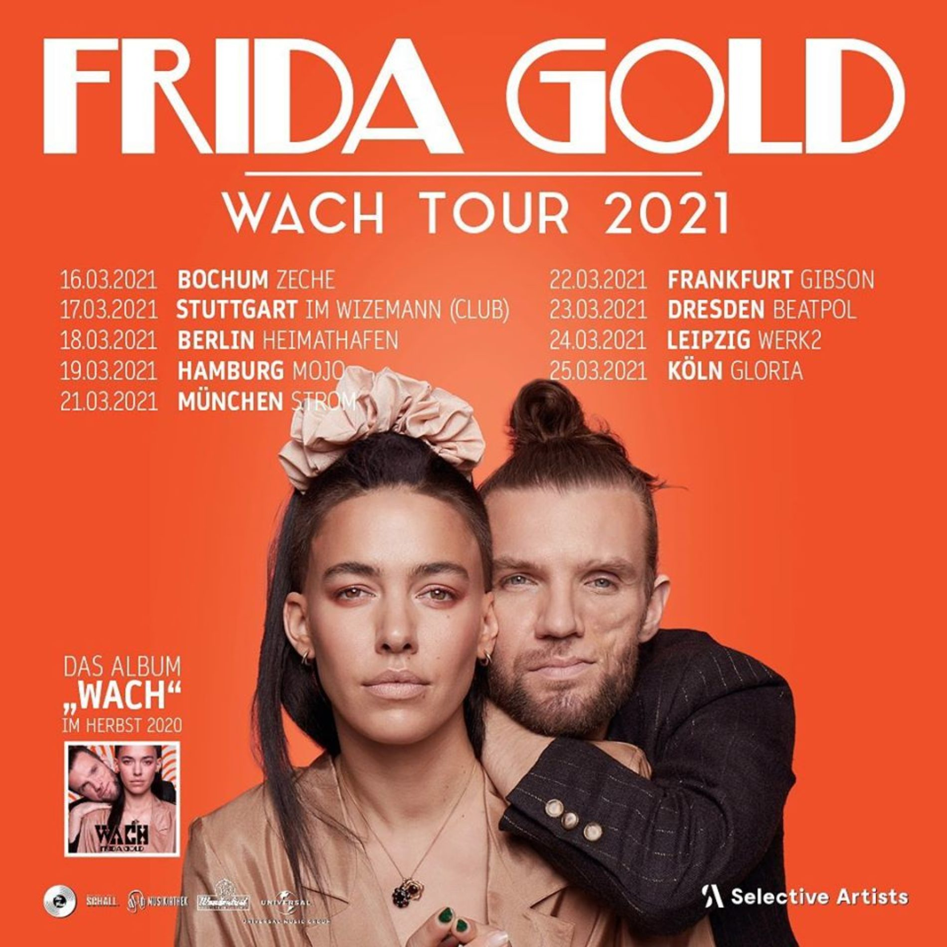 Frida Gold – Wach Tour 2021